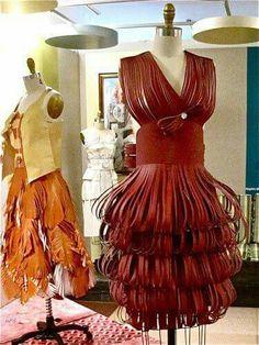 Vestido de papel
