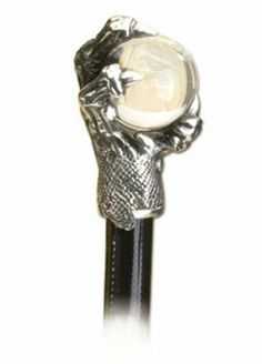 Beast's Claw Gothic Walking Cane by Dear Deceased. $232.99. Made In England. Made From Fine English Pewter. Premium Designed Product. 5-10 Business Day Ship Time. The ultimate gentleman's cane displaying a heady embodiment of elegance, mysticism and ferocity. Feel the smooth crystal ball rotate in your hand, within the grasp of the hand-polished pewter claw.Walking canes are individually hand-crafted, genuine beech-wood canes, fitted with uniquely styled, hand-made, Alchem...