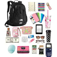 Back to School Outfits School Supplies Untitled # 24 by gigifiacco on . Middle School Supplies, Middle School Hacks, School Supplies Highschool, High School Hacks, Back To School, School Stuff, School Emergency Kit, School Survival Kits, School Kit