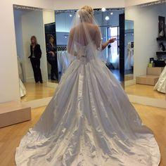 allure hoop dress size 10 sample dress - Nearly Newlywed