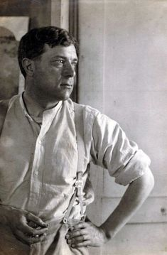 Georges Braque by Man Ray, 1922