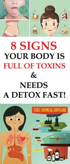 Here Are Some Warning Signs That Show You Should Detoxify Your Body
