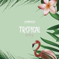 Vernis gel semi permanent Andreia professional de la nouvelle collection TROPICAL Feeling disponible sur le site http://www.parlezenauxcopines.com