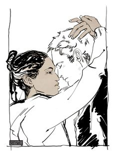 Jordan Kyle and Maia Roberts by Cassandra Jean, City of Heavenly Fire<<< NO. NO. NO. NO. NOOOO THIS IS NOT OKAY.  NOT. OKAY. *cries in a corner*