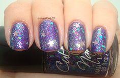 Zoya Savita as a base, then 1 coat of Cult Nails Clairvoyant then Kleancolor Aurora