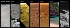 Image result for pictures of surface of venus'