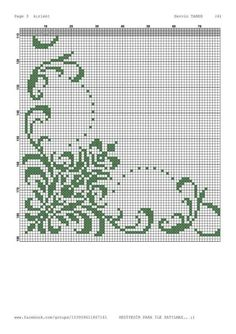 This Pin was discovered by Ebr Cross Stitch Pillow, Cross Stitch Borders, Cross Stitch Designs, Cross Stitching, Cross Stitch Embroidery, Embroidery Patterns, Cross Stitch Patterns, Crochet Cross, Crochet Chart