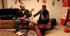 Watch these guys shred through some Slayer on a set of pink �First Act� instruments for kids. They sound pretty good! And I love the kid that�s just running around the whole time, funny stuff.