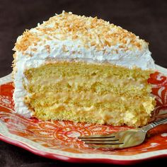A scrumptious cross between a coconut cream pie and a classic sponge cake with cream; this coconut cream cake gets rave reviews from our readers every time.