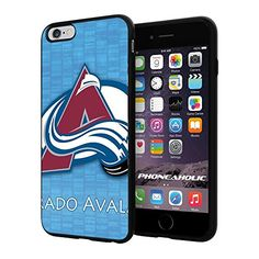 """NHL HOCKEY Colorado Avalanche Logo, Cool iPhone 6 Plus (6+ , 5.5"""") Smartphone Case Cover Collector iphone TPU Rubber Case Black [By NasaCover] NasaCover http://www.amazon.com/dp/B012BCT9TM/ref=cm_sw_r_pi_dp_MomXvb08K2AED"""
