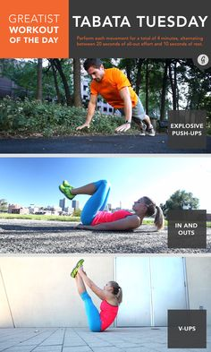 Greatist Workout of the Day: April 14th #fitness #bodyweight #workout