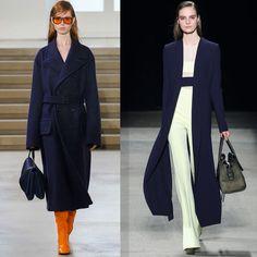 темно-синее пальто 2016