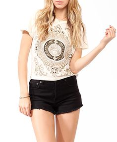Distressed Mythology Graphic Tee $16.80 (Forever 21)