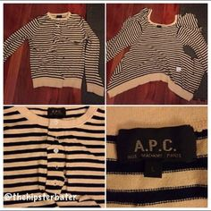 #cutandsew My old APC sweater. chopped up....only to be revived again soon. #sew #apc #french #fashion #clothes #paris #parisian
