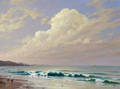 Beautiful seascapes paintings by Russian artist George Dmitriev. Born in Murom in 1957, George studied in Surikov State Institute of Master of Arts, Arts at Academy of Arts in 1983.
