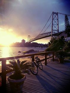 Florianópolis SC by Idalecio Santos, via Flickr                              …