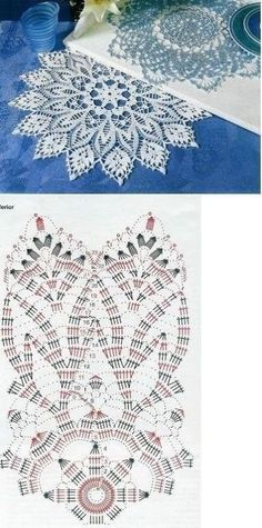 Kira scheme crochet: Scheme crochet no. Crochet Needles, Thread Crochet, Crochet Motif, Crochet Doilies, Hand Crochet, Crochet Stitches, Irish Crochet, Crochet Gifts, Crochet Toys
