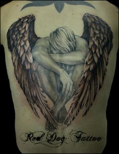 My Grandson My Guardian Angel tattoos | 31 back angel600_778