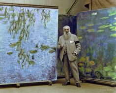 Ingekleurde foto Monet
