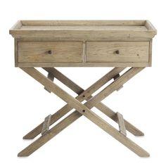 weathered pine bar stand