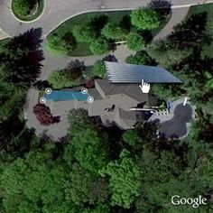 Use Google Maps to zoom in on your house and then place DOW POWERHOUSE Solar Shingles on your roof to see what it would look like! See your roof reinvented! | dowpowerhouse.com | #solar #roof #dow