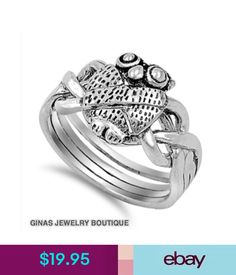Sterling Silver Owl Ring 925 silver band ring high fashion owl ring R08