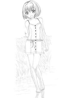 https://flic.kr/p/h6w3PA | A piedi nudi! | New painting / Nuovo disegno!!  See later ;) / Alla prossima ;)
