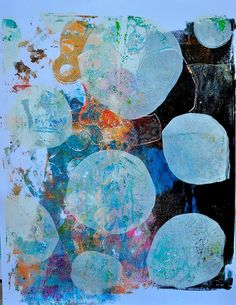 Gelli Printed Mess - Dina Wakely