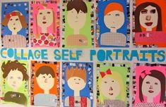 collage self portraits