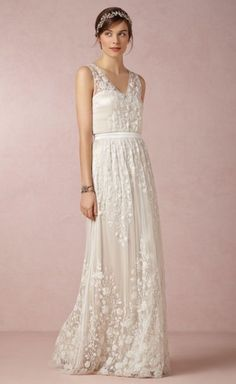 HEIDI - Long lace dress.. hippie varbs