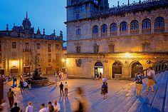 Praza de Praterias #santiagodecompostela  #LitaPalas (es): La inmensa suerte de nacer en una ciudad muy hermosa.