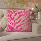 Found it at Wayfair - Coen Eye-Catching Zebra Throw Pillow