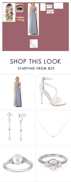 """""""Untitled #71"""" by victoria-annalise ❤ liked on Polyvore featuring Monique Lhuillier, Steve Madden, Nadri, Accessorize and Ice"""
