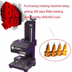 Automatic Serial Number Marking Machine #Affiliate