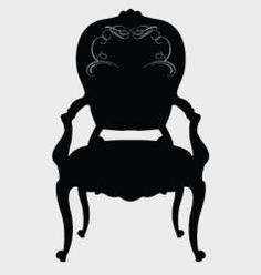 Free Vectors, Royalty-Free Vector Art, Vector Graphics & Clipart - Page 16 Free Vector Clipart, Free Vector Graphics, Free Vector Images, Antique Chairs, Stickers, Decoration, Art Reference, Vintage Christmas, Chairs