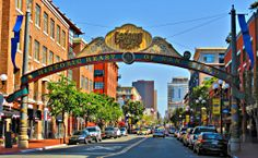 The Arch to Gaslamp District, San Diego, CA