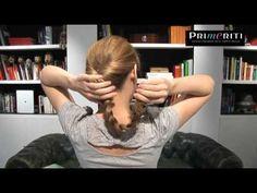 Peinados fáciles paso a paso: Recogido romántico trenzado http://blog.primeriti.es/tips/5-peinados-a-prueba-de-dias-de-lluvia-videos/