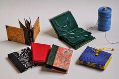 Needle Books by JADE BOOKBINDING STUDIO