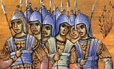Byzantine Military: The Siege of Constantinople Siege Of Constantinople, Military Costumes, Germanic Tribes, The Siege, North Africa, Roman Empire, Byzantine, World History, Romans