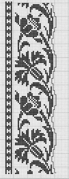 Russian Cross Stitch, Mini Cross Stitch, Cross Stitch Borders, Cross Stitch Flowers, Cross Stitching, Cross Stitch Embroidery, Cross Stitch Patterns, Crochet Chart, Filet Crochet