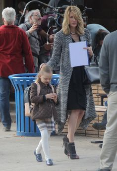 Laura Dern Photos - Actresses Reese Witherspoon, Nicole Kidman and Laura Dern film scenes for the HBO series 'Big Little Lies' in Los Angeles, California on January - Stars Perform on the Set of 'Big Little Lies' James Tupper, Mystery Tv Shows, Secrets And Lies, Big Little Lies, Hbo Series, Reese Witherspoon, Nicole Kidman, Work Wear, New Look
