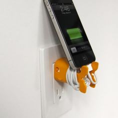 Goldie cablekeeps color Naranja para tu iPhone