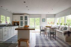 Gamla Herrviksn�sv�gen 59 | Per Jansson fastighetsf�rmedling Kitchen, Table, Furniture, Home Decor, Cooking, Decoration Home, Room Decor, Home Furniture, Interior Design
