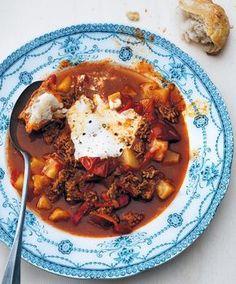 Recept Gulaschsoppa med nötfärs - Tina Nordström - Mat-Tina