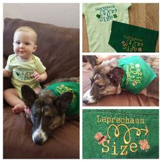Not old lady Sewing leprechaun size