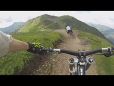 ▶ X-Line Saalbach Non-Stop-Run by downhill-rangers.com - YouTube
