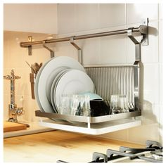 Designs for Small Kitchens: Dish Racks - Core77