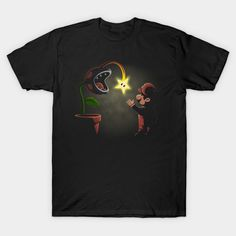 Plant Trap T-Shirt - Super Mario Bros T-Shirt is $14 today at TeePublic!