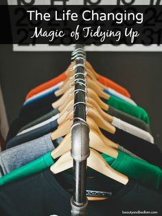Every personality type can learn something from this. So much practical information definitely worth pondering. The Life Changing Magic of Tidying Up - such great ideas
