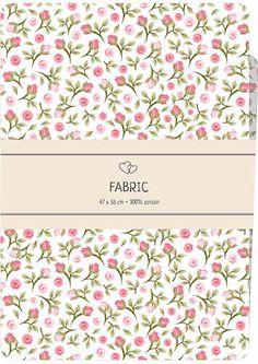 Tessuto in cotone 100% ideale per ogni composizione di patchwork, quilting, cucito creativo e per rifinire qualunque tipo di ricamo.